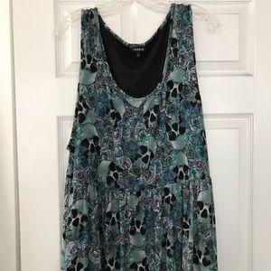 Torrid Skull Summer Dress - sz 4X